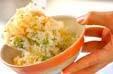 ショウガ風味のおこわの作り方2