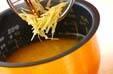 ショウガ風味のおこわの作り方の手順4
