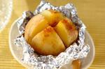 カレーバター風味のジャガイモのホイル焼き
