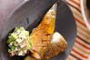 サンマのカレー焼き