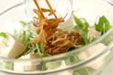 水菜のホットサラダの作り方4