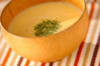 ふわふわコーンスープ