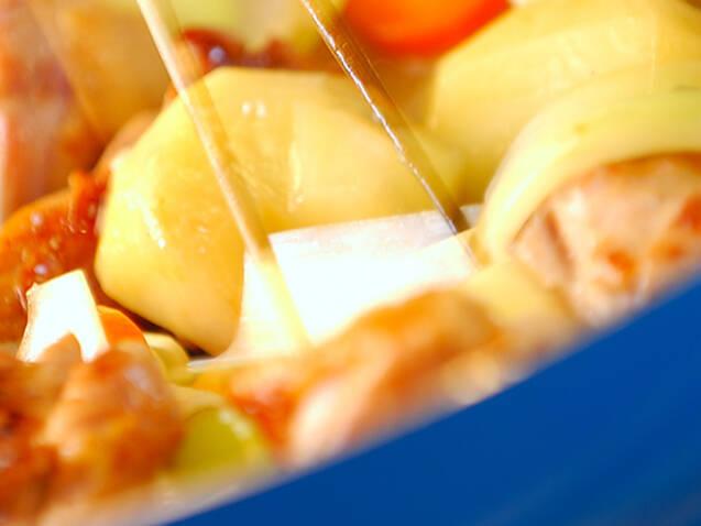 鶏肉と春雨の炒め煮の作り方の手順4