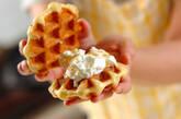 ヨーグルトマンゴーのワッフルサンドの作り方7