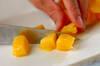 ヨーグルトマンゴーのワッフルサンドの作り方の手順1