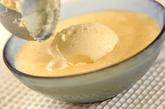 ホットピーチスープとバニラアイスの作り方3