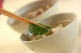 セロリとモヤシのチキンスープの作り方3
