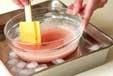 イチゴババロアの作り方1