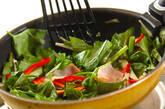 空心菜のオイスター炒めの作り方8