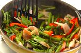 空心菜のオイスター炒めの作り方4