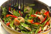 空心菜のオイスター炒めの作り方9