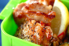 鶏肉のレモンペッパー焼き
