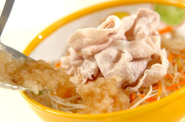 サッパリ豚しゃぶ素麺の作り方の手順8