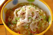 サッパリ豚しゃぶ素麺