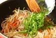 モヤシの炒め物の作り方2