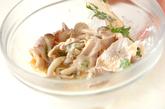 ゆで豚の梅マヨ和えの作り方2