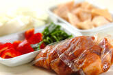 酢豚の下準備1