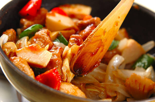 酢豚の作り方の手順8