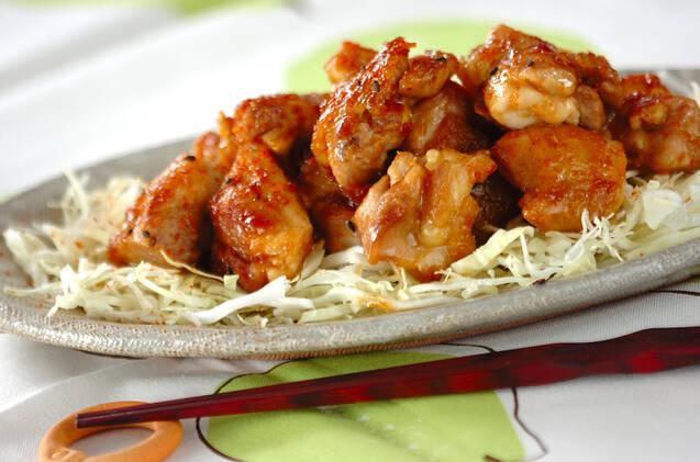 鶏ショウガ焼きの料理写真