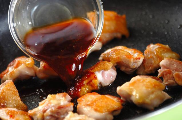 鶏ショウガ焼きの作り方の手順4