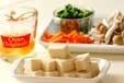 高野豆腐の卵とじの下準備3