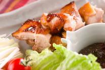 鶏もも肉の北京ダック風