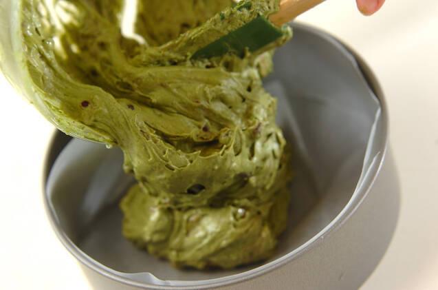 抹茶と小豆のケーキの作り方の手順6
