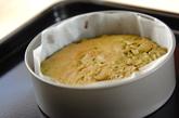 抹茶と小豆のケーキの作り方4
