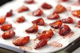 イチゴシロップとセミドライイチゴの作り方4