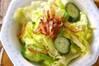 グリーンサラダの作り方の手順
