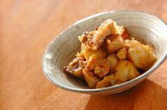 里芋と豚バラ肉のみそ煮