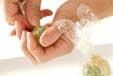 おさつの茶きん絞りの作り方3