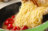 ホタテとトマトのパスタの作り方4