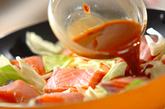 鮭とキャベツのみそ煮の作り方3