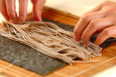 そば巻き寿司の作り方6