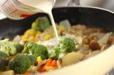 チキンのレモンクリーム煮の作り方4