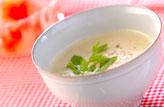 生コーン豆乳スープ