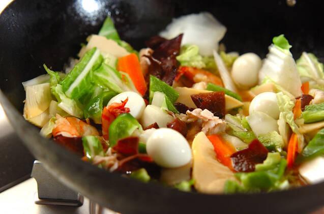 具だくさん!基本の八宝菜の作り方の手順11