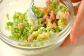 キャベツのコールスローサラダの作り方2