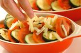 夏野菜グラタンとコンソメスープの作り方4