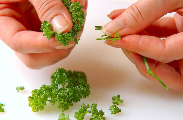 ムラサキのサラダの作り方の手順2