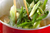 ゴボウと油揚げの卵とじの作り方の手順5