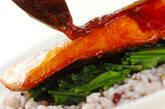 鮭の照り焼きの作り方6