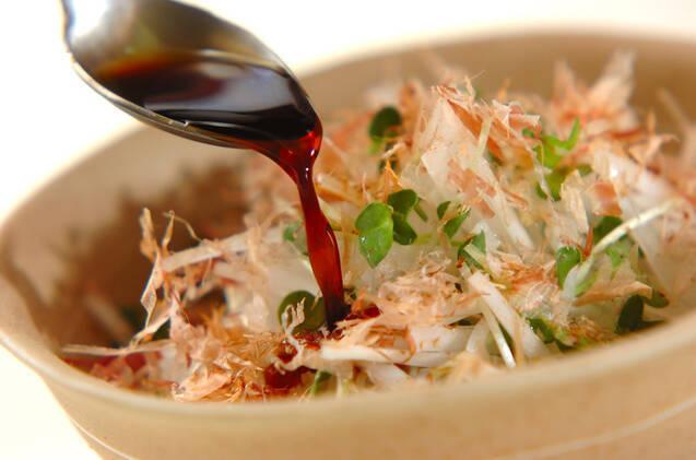 大根のかつおサラダの作り方の手順4