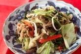 野菜と牛肉の炒め物