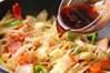 イカと野菜のソース炒めの作り方の手順10