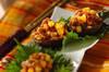 シイタケのレンジ蒸し