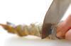 大きなエビフライの作り方の手順1