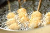 モッツァレラ串揚げの作り方4