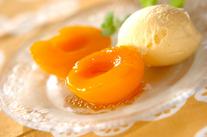 黄桃のカラメリゼ